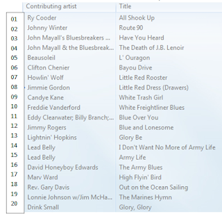 Blues Moon Radio playlist
