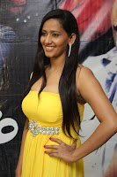sanchana singh  yellow dress in hot spicy