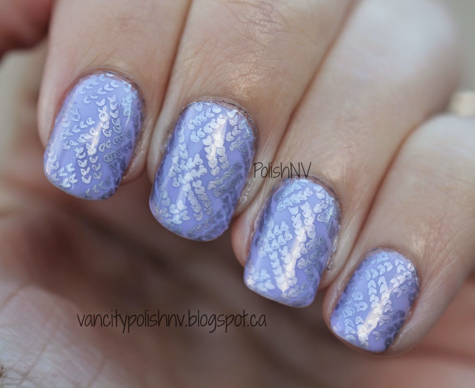 Mundo de Unas metallic violet