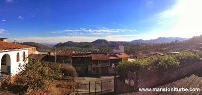 Tacambaro: Panoramic View from the Sanctuary of Farima