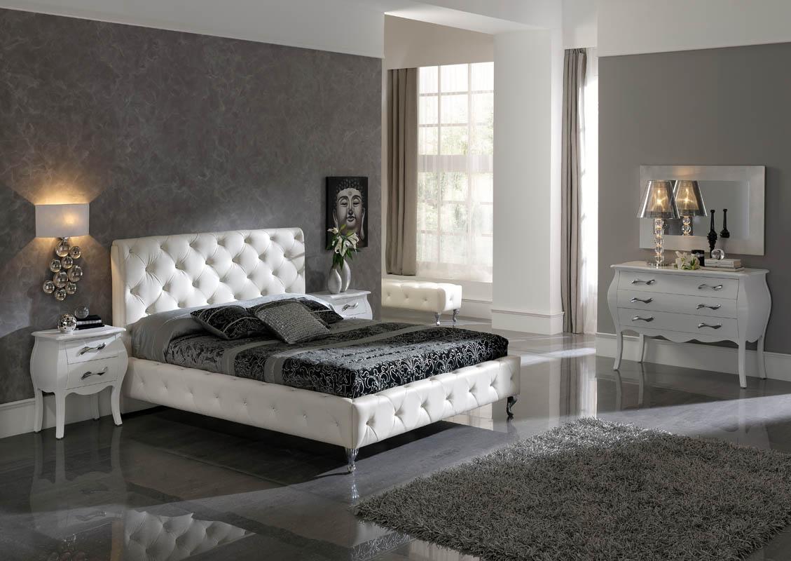 Salons meubles et d co for Black or white bedroom furniture