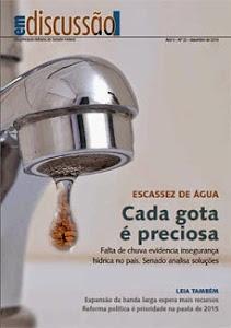 Escassez da água