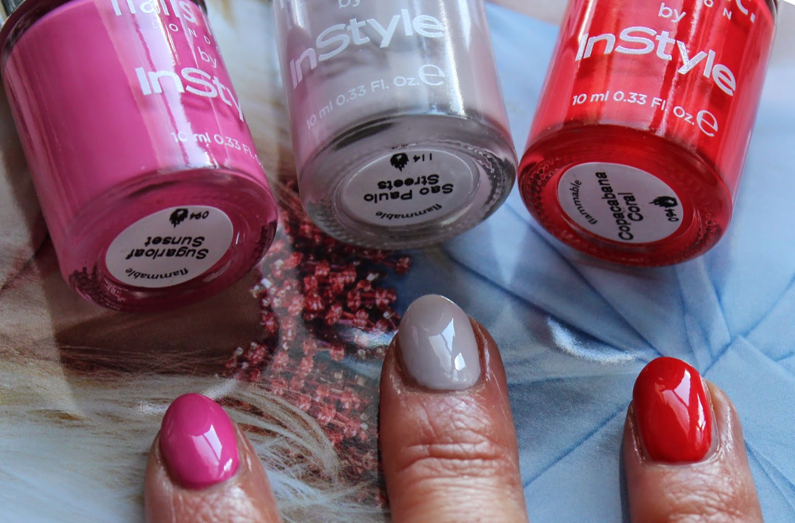 BEAUTY & LE CHIC: Free Nails Inc with InStyle Magazine... and they ...