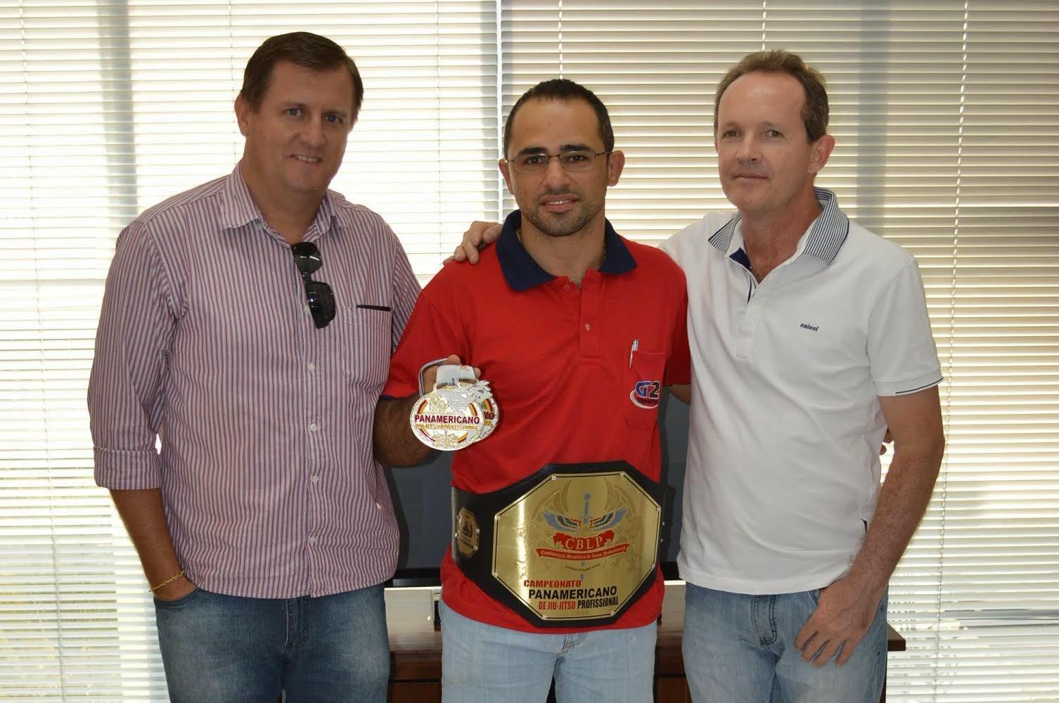 Canarana:  Com apoio da Prefeitura, atleta participa do Panamericano de Jiu-Jitsu e é campeão