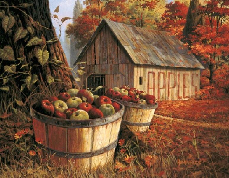 Cuadros modernos pinturas y dibujos paisajes campestres - Pinturas para casas de madera ...