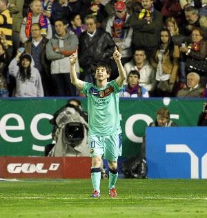 Resultado Levante Vs Barcelona - Liga Española