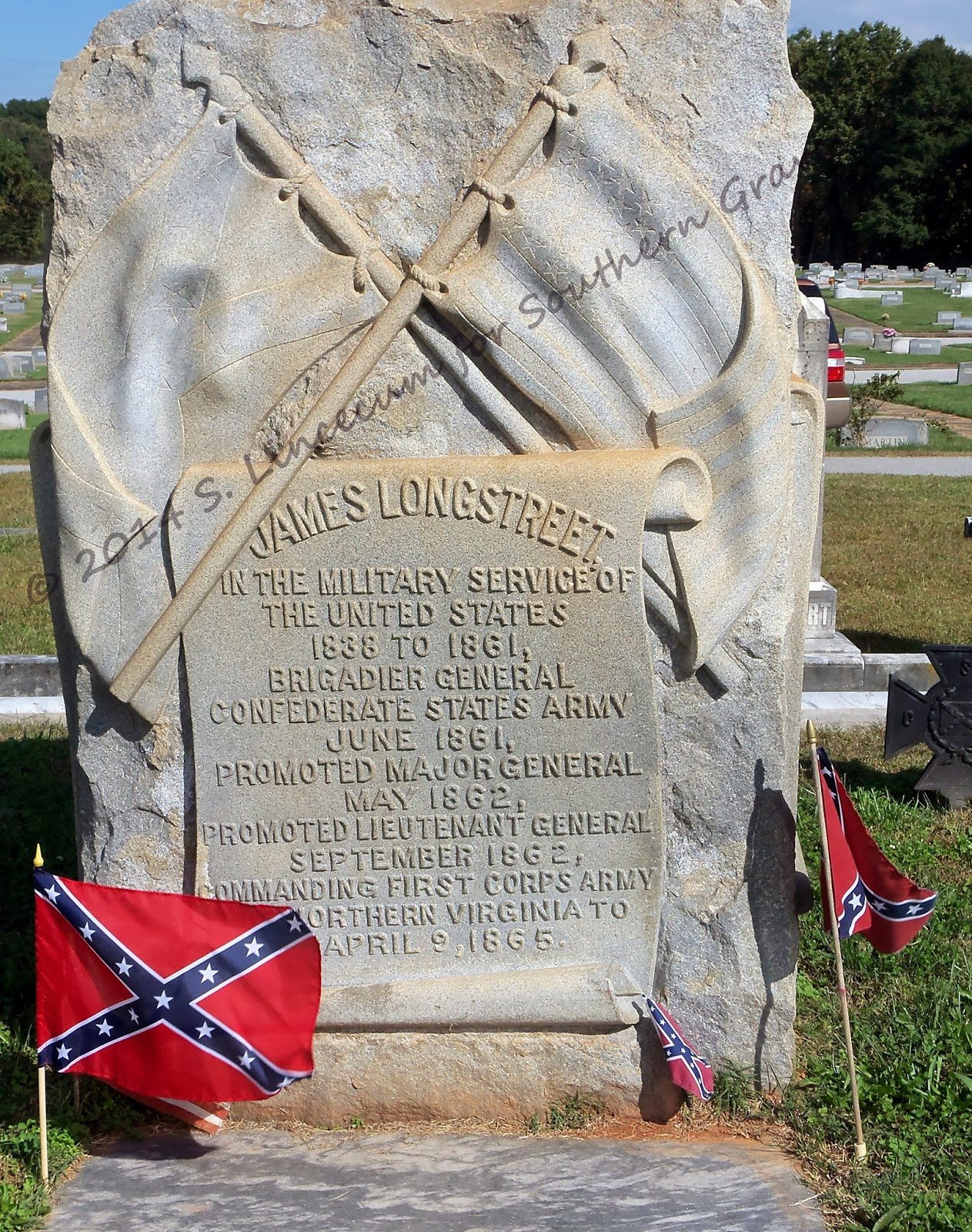 the life of james longstreet a confederate general Steven holmes writes that the relative lack of statues of longstreet, who favored reconstruction after the civil war, shows that confederate history is seen through a political lens.
