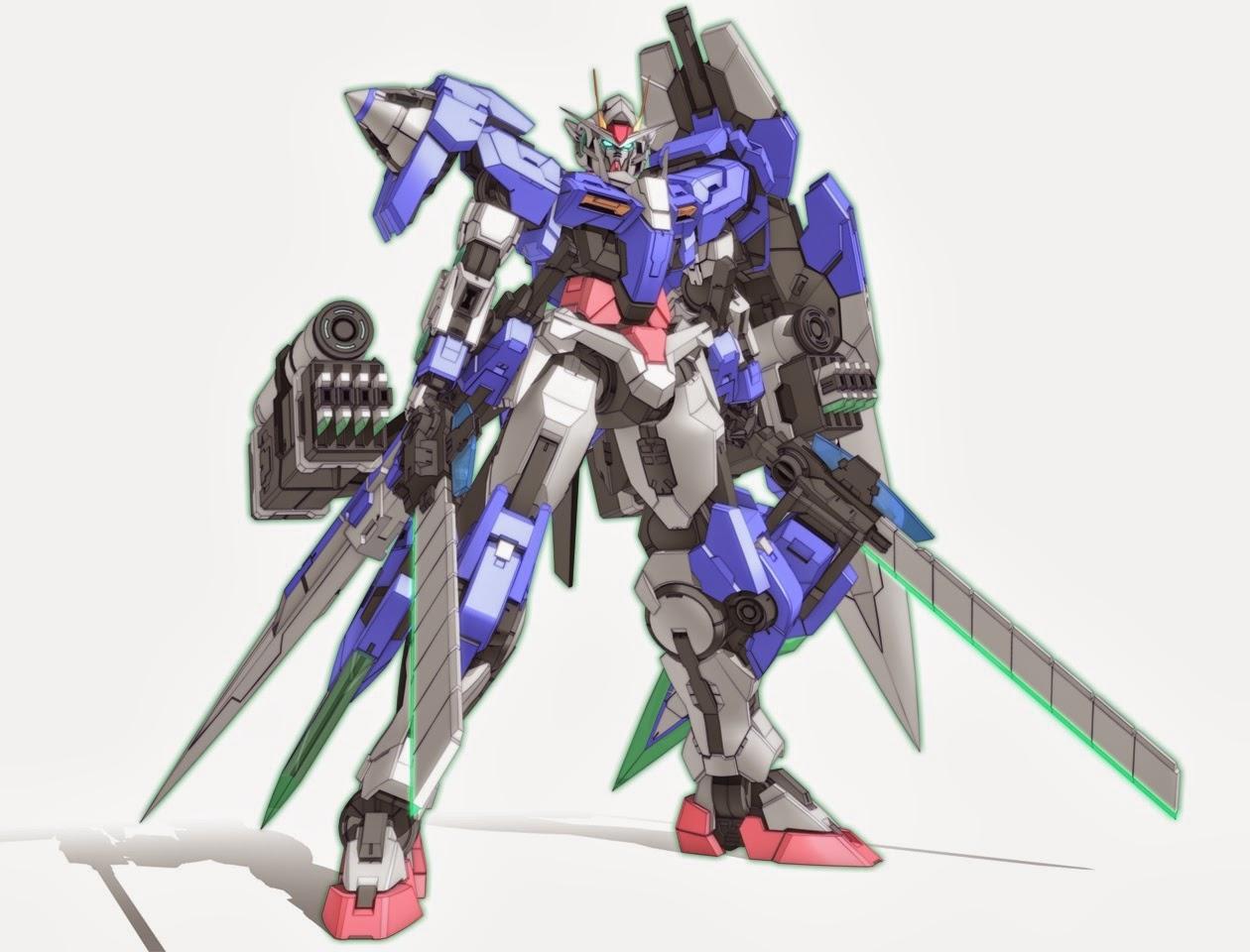 Gundam guy 00 gundam seven sword attack on titan custom for Design attack