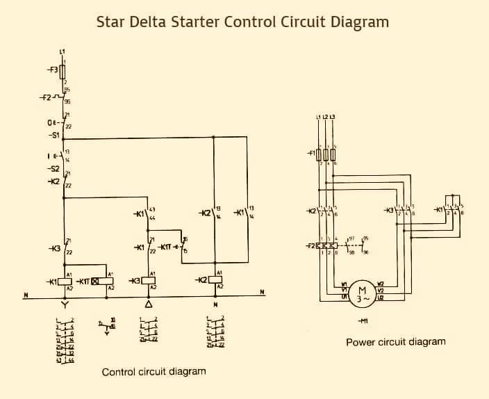 Dol Starter Circuit Diagram Explanation Somurichcom