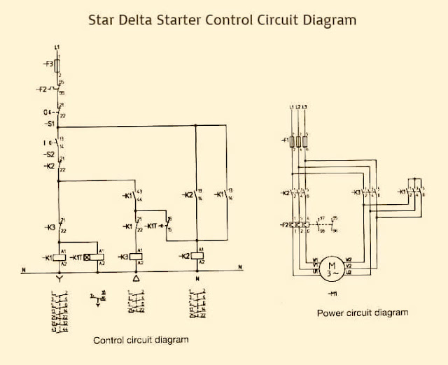 Dol starter control wiring diagram pdf electrical work wiring wiring diagram for star and delta connection elec eng world wire rh linxglobal co dol starter schematic diagram dol starter control circuit diagram pdf asfbconference2016 Choice Image