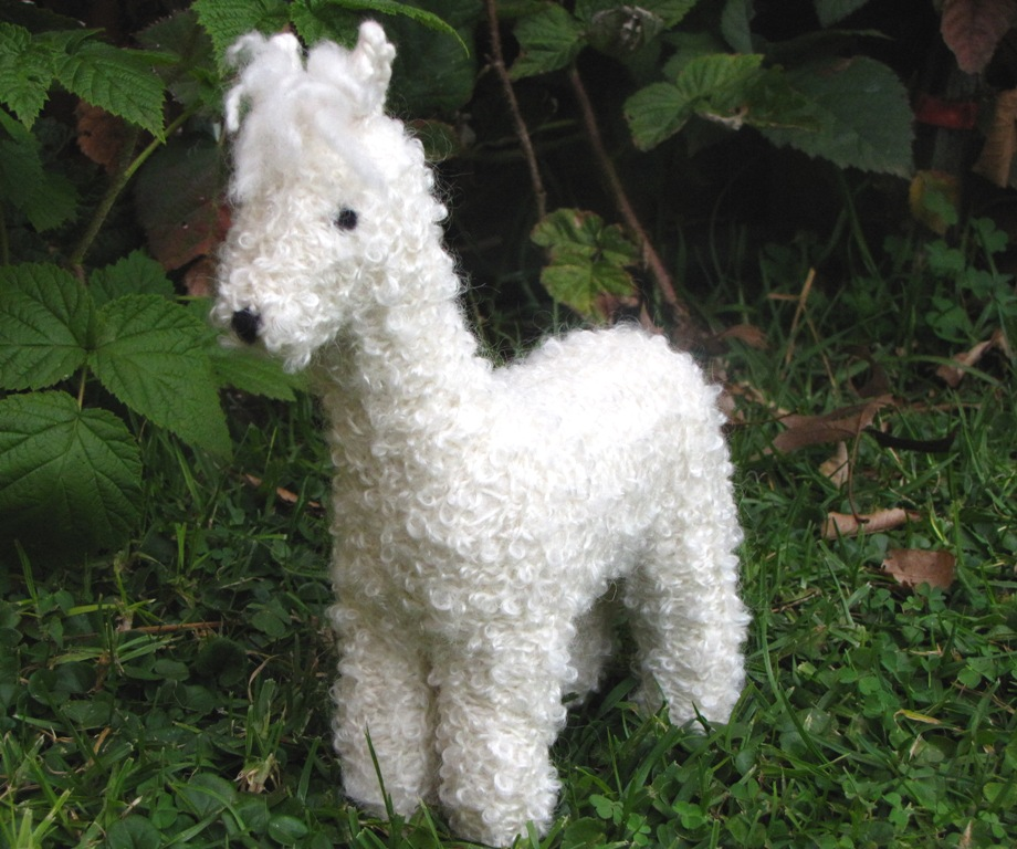 Alpaca Toy Knitting Pattern and a Giveaway - Natural Suburbia