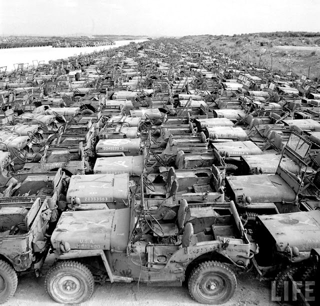 Jeeps-worldwar-2-vintage