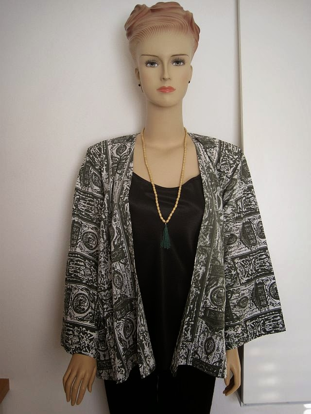 Easy Kimono Jacket Tutorial + FREE Sewing Pattern - Greenie Dresses ...
