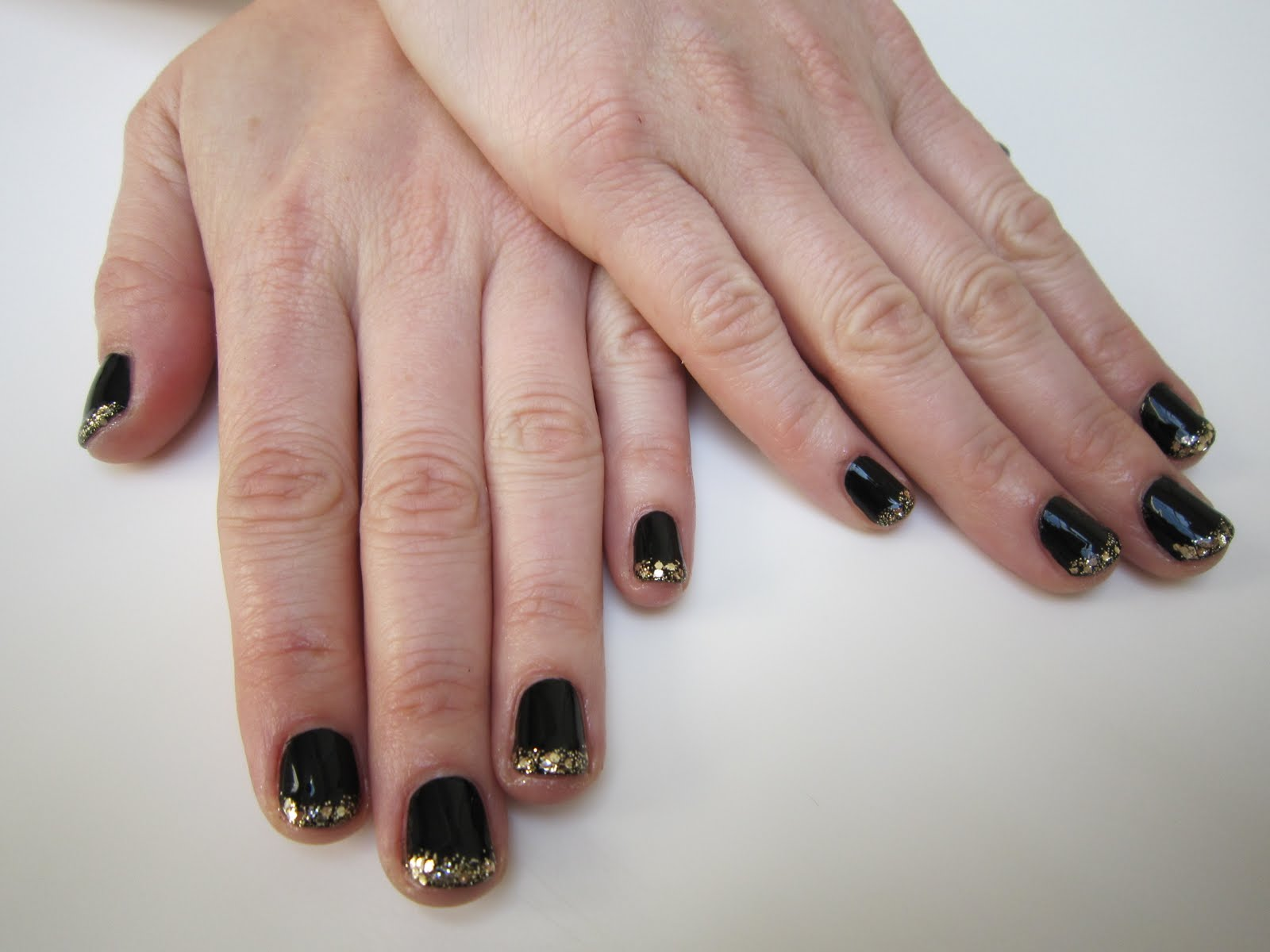 The Beauty of Life: Mani of the Week: Crazy-Cool French Manicure ...