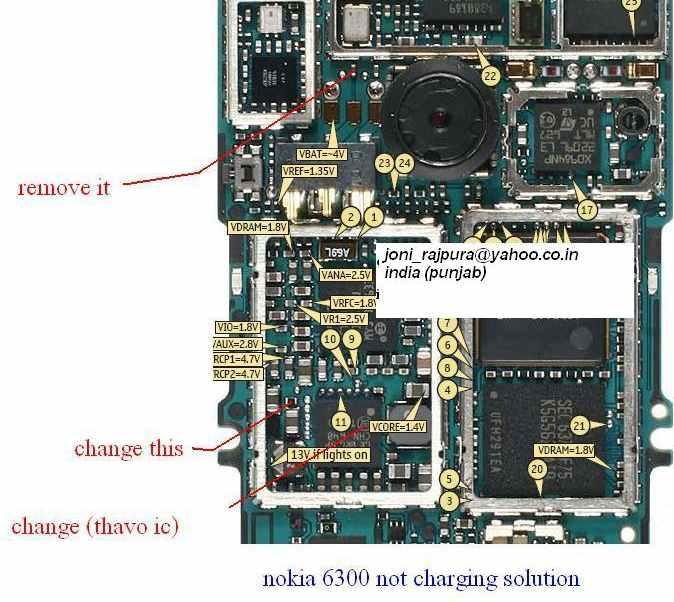 Nokia 3110c Not Charging,