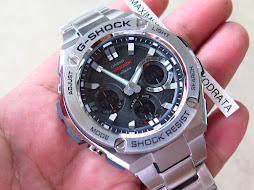 CASIO G-SHOCK GST-S110D-1ADR- ANALOG DIGITAL