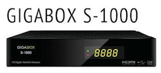 ATUALIZAÇÃO GIGABOX S1000 V1.86 GIGABOX-S1000