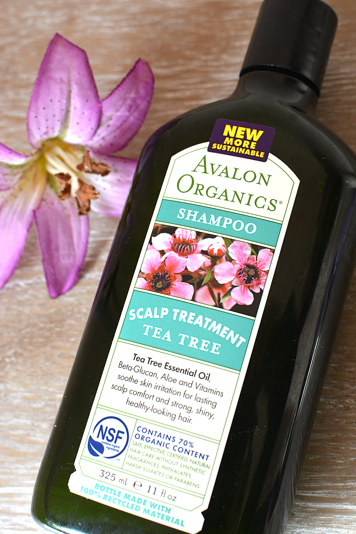 Avalon Organics Tea Tree Shampoo Review