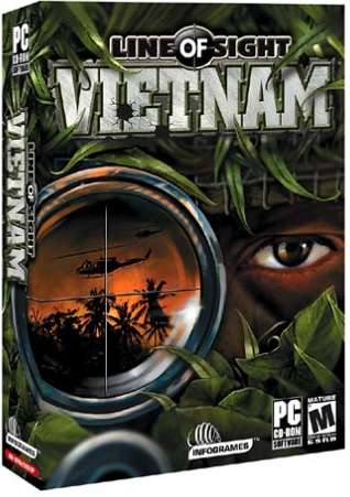Line of Sight Vietnam PC Game Cover