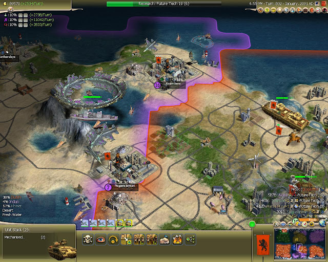 Civilization 4 - Air Stack Screenshot