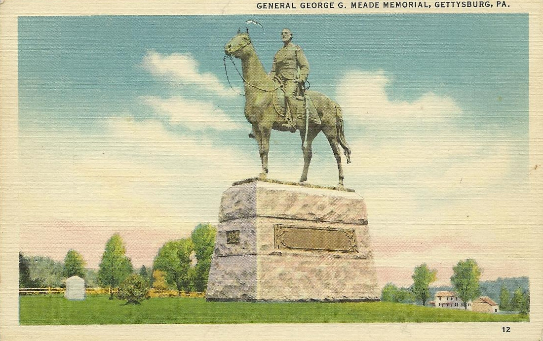 Vintage Travel Postcards Gettysburg Pennsylvania