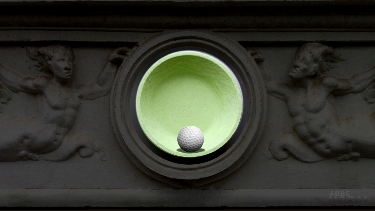 pelota golf, 2015 Abbé Nozal