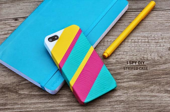 Cómo decorar tu celular con cintas adhesivas