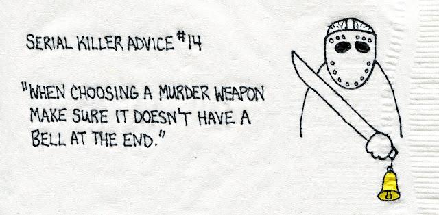 Napkin #515 Serial Killer from Matta
