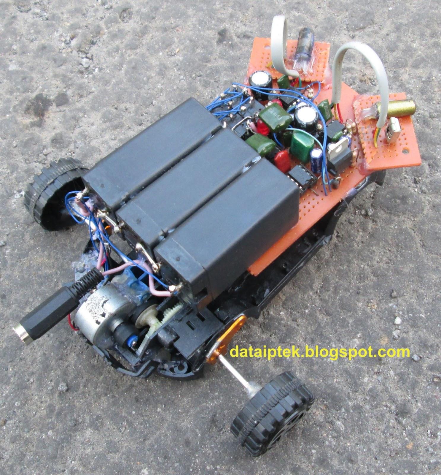 Koleksi gambar robot sensor jarak bag-2
