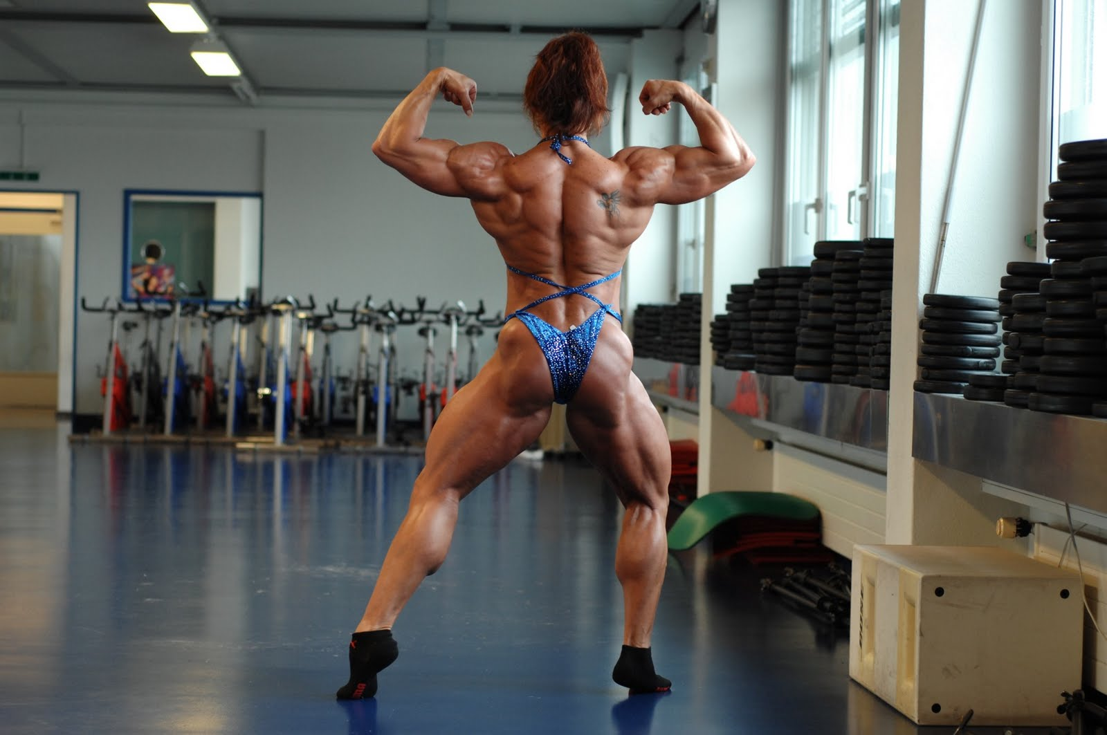 Muscle sexy ladies pics hentia photo