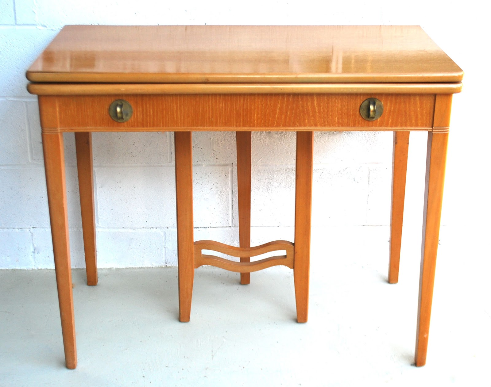 50s retro console table - photo #32