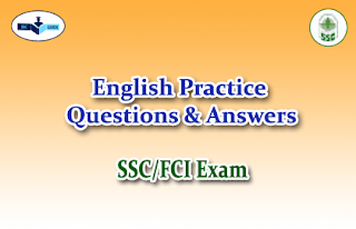 Practice English Questions (Error Spot)