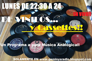 DE VINILOS Y CASSETES