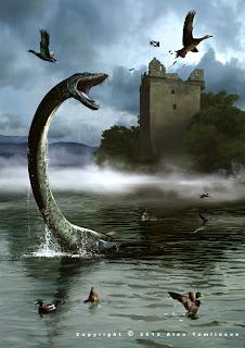 Loch Ness Monster Urquhart Castle