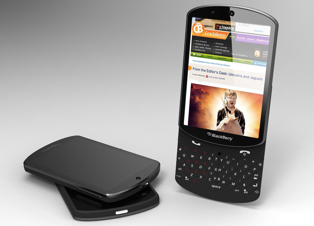 Gambar Blackberry 10 Sliding Tipe
