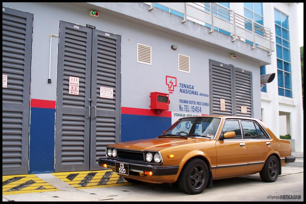 stara Honda Accord I, klasyczny model, samochody z lat 70, znane auta, bilder, typowa Honda