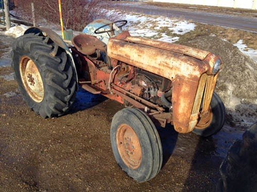 Ford NAA tractor parts
