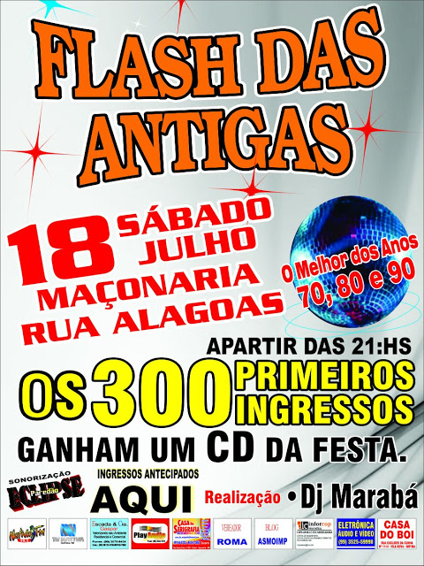 FLASH  DAS ANTIGAS