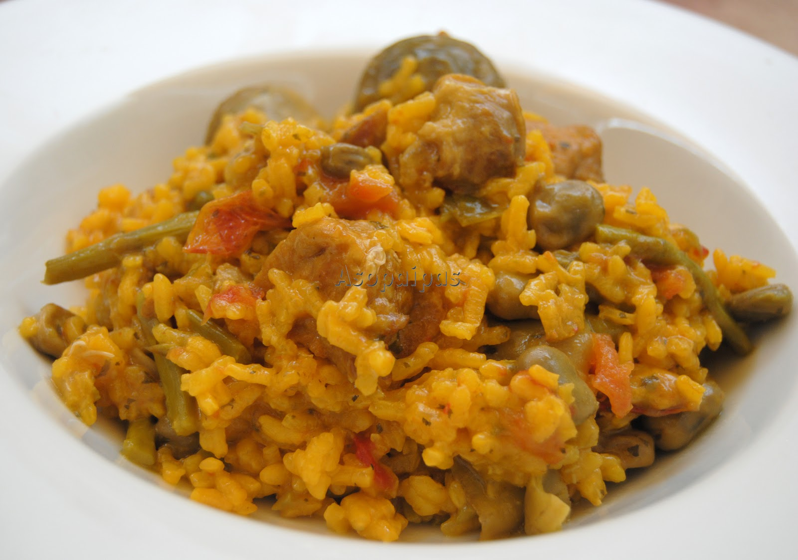 Arroz con verduras recetas de cocina - Arroz con pescado y verduras ...