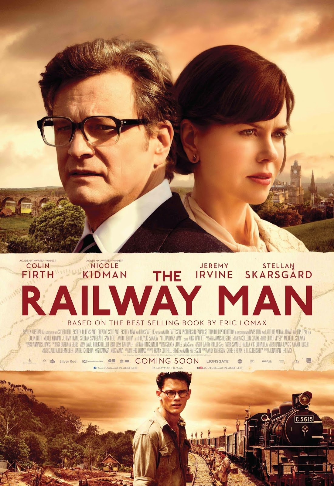 Win Tickets to 'The Railway Man'!