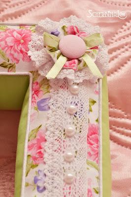 подушки буквы, цветы из ткани