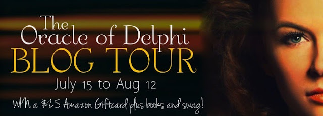 Blog Tour: Oracle of Delphi by Diantha Jones (Guest Post+Interview+Giveaway)