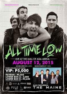 All Time Low and The Maine Live in Manila