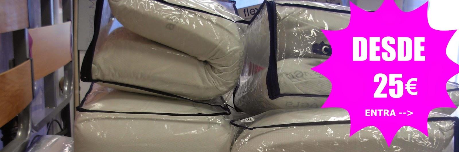 Almohadas de viscoelástica desde 25€