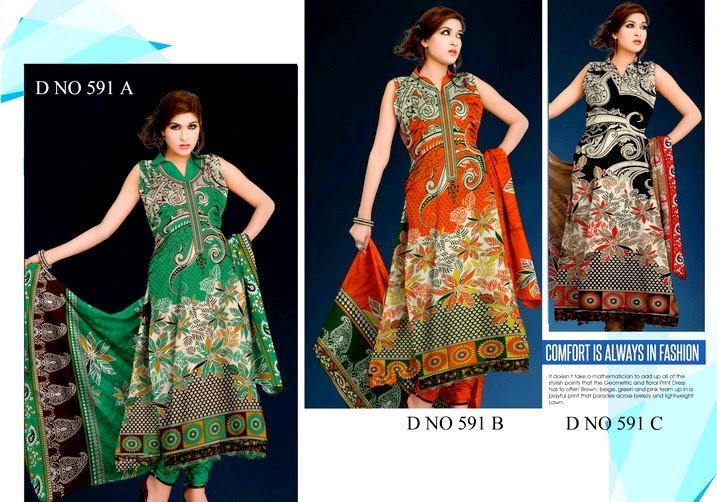 Soughat Lawn Collection 2014