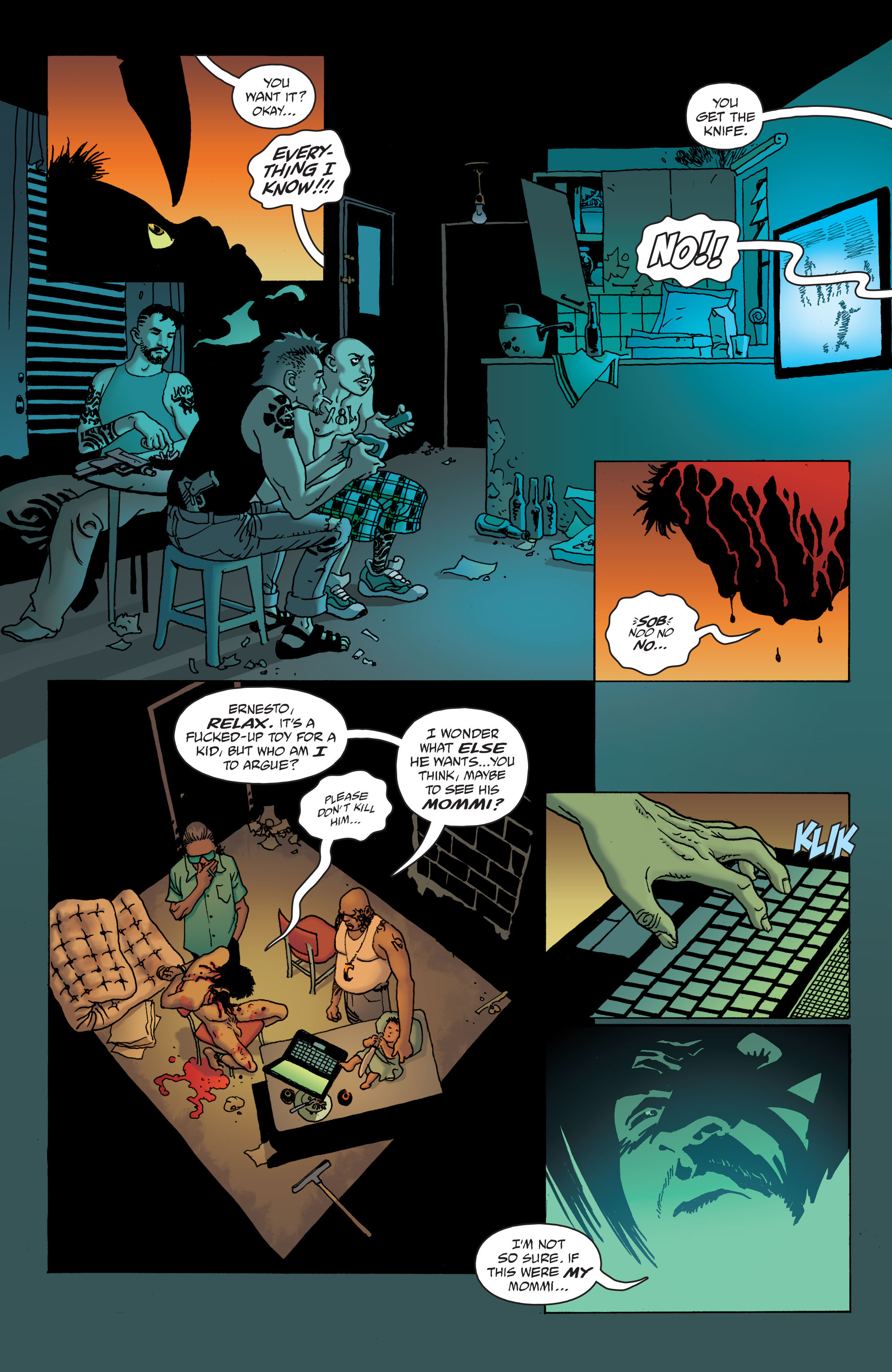 100 Bullets: Brother Lono Full Page 12