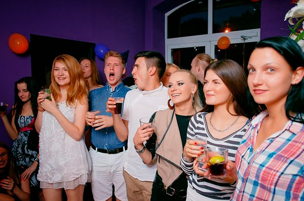 Cinema room in Minsk - party
