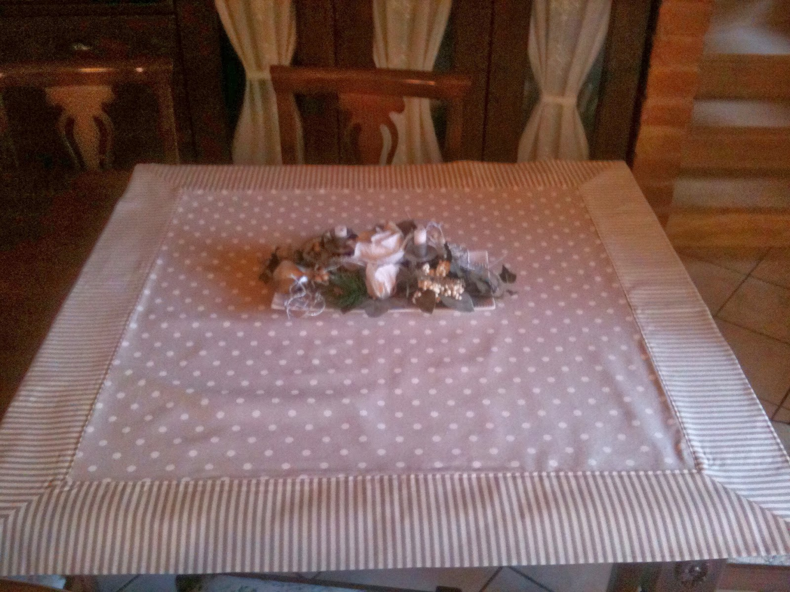 Pure heart di francesca pugliese copri tavolo shabby chic for Tovaglie shabby