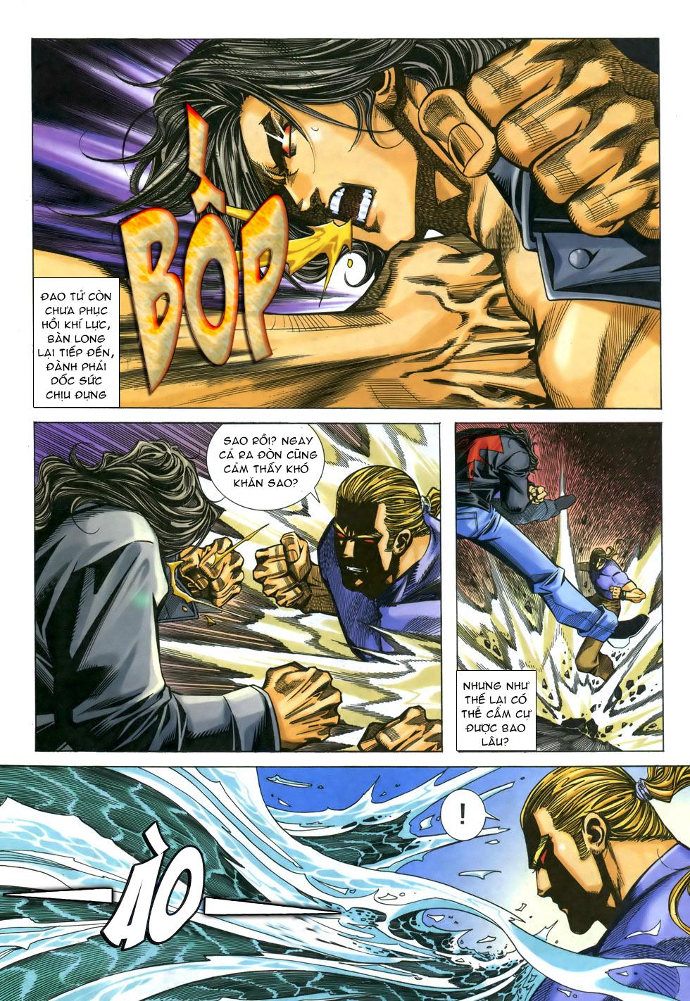X Bạo Tộc chap 33 - Trang 10