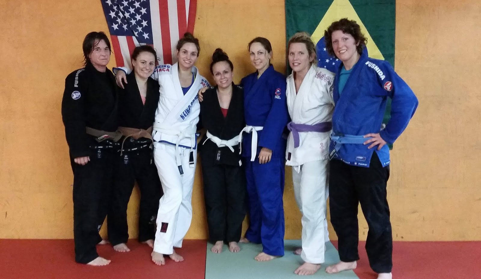 Find Women's BJJ Classes